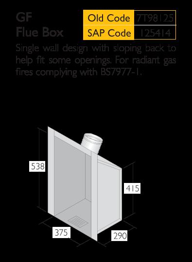Infograph for Triplelock GF Flue Box